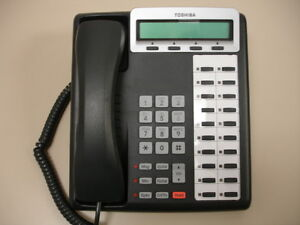 Five Refurbished Charcoal Toshiba Dkt 3220sd Telephone Sets toshiba Dkt3220sd