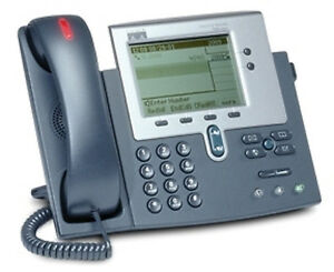 Five Refurbished Cisco Unified Ip 7940g Phones cp 7940 Telephones