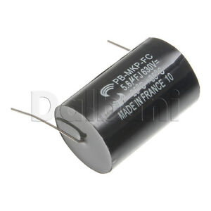 Pb mkp fc Metalized Polypropylene Mkp Audio Capacitor 630v 5 6uf Axial Leads
