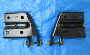 Up Rated Rear Axle Leaf Spring Perch Shock Mount Plate Plates Chevy S10 Sonoma
