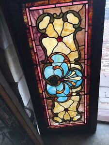 Sg 622 Beautiful Antique Victorian Transom Window Read Jewels