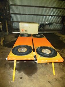 Aerogo Aero plank Air Casters Machinery Moving Air Bearings 14 Ton Capacity