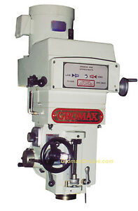 Mh v400 Variable Speed Milling Head