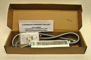 Mule Mf40 plq Fluorescent Emergency Ballast For 4 pin Compact Fluo 120 277v