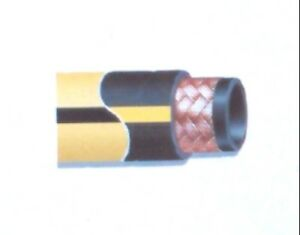 Gates 500mp Air Drill Hose 2 1 2 X 100 500 Psi Yellow Msha Flame Resistant