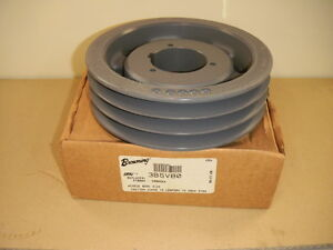 Browning 3b5v80 Split Taper Sheave 3 Groove Pulley Cast Iron Source1 02812314700