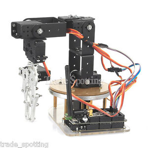 Sainsmart Mechanical 6 axis Control Palletizing Robot Arm Model Diy For Aduino