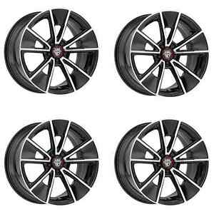 Centerline 634mb Mm5 634mb 2156545 Set Of 4 Rims 20x10 5 45 5x114 3 Machined