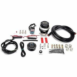 Turbosmart Blow Off Valve Kit black For Diesel Cummins Powerstroke Duramax