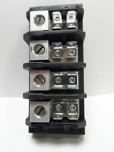 20 Shining Terminal Distribution Blocks Tgp 085 4 Pole 85a 600v 2 14 Awg Faston