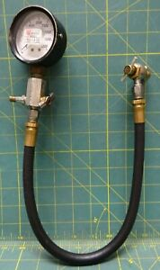 Noshok Air Pressure Gauge Assembly Type Class A With Screw On Chuck 0 4000 Psi