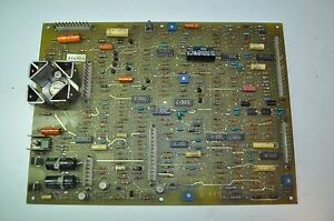 Vintage Ge Cnc Machine Program Control Circuit Board Pcb 44b296414 002