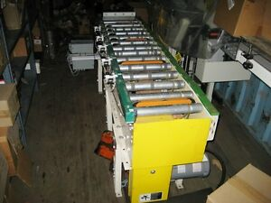 Package Roller Conveyor With Two Gear motors 2 Package box Diverter Sections