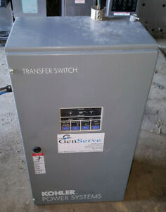 Kohler 70 Amp 208 V 3 Phase Generator Automatic Transfer Switch Kct acta 0070s