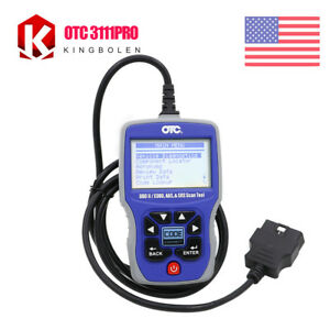 Obd2 Code Reader Otc 3111pro Obdii can abs airbag Scanner Diagnostic Scan Tool