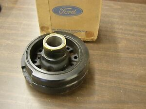Nos Oem Ford 1970 1971 1972 1973 Mustang Torino Galaxie Ltd Crank Shaft Damper