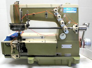 Rimoldi 261 Coverstitch 2 needle 1 8 Gauge 3 thread Industrial Sewing Machine