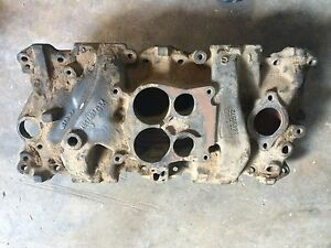 Small Block Chevy Racing Intake Manifold 14057057