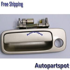 For Toyota Camry Outside Door Handle Beige 4m9 Front Rear Left Right For 97 01