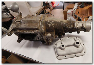 1962 1963 Corvette Gm Borg Warner T10 Used Transmission Case Tail Spacer Side
