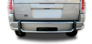 Wynntech Stainless Steel Rear Bumper Guard Double Pipe For 06 10 Ford Explorer