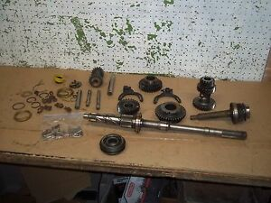 1946 Chevy Truck Transmission 2t Main Shaft Input Gears Retainer Parts 1939 1947