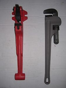 New Foot Vise Pipe Wrench 1 2 1 1 4 Rothenberger Collins Pony Pipe Threader