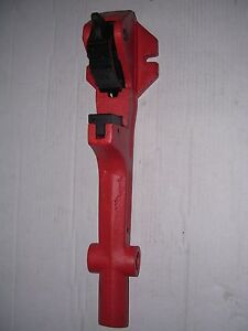 New Foot Vise No Pipe Wrench 1 1 4 2 Ridgid Rothenberger Collins Pipe Threader
