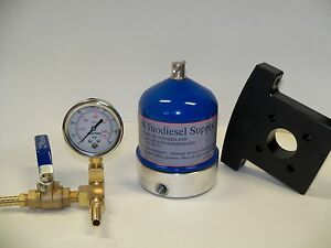 55 Gph Centrifuge W brass Gauge And Bracket For Wvo oil And Biodiesel