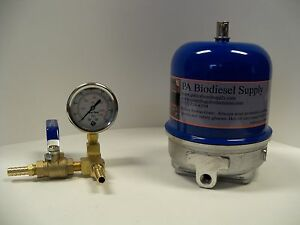 120 Gph Centrifuge W brass And Gauge For Wvo oil And Biodiesel