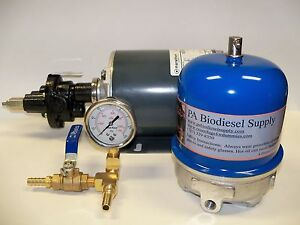 108 Gph Oil Centrifuge Motor Package For Wvo Oil And Biodiesel