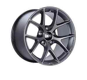 Bbs Sr021sg Satin Grey 18x10 5x130 Bolt Circle 41mm Offset One Piece Cast Wheel
