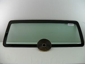 For 1998 2011 Ford Ranger mazda Pickup Stationary Back Window Glass W seal Usa