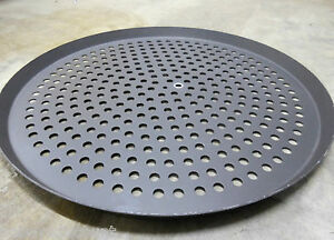 5 16 Perforated Hard Anodized Aluminum Crispy Crust Pizza Baking Pan Dish