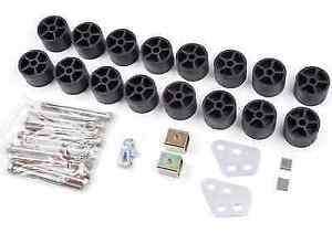 Zone Offroad C9150 Body Lift Kit 1 1 5 Lift For Silverado 1500 sierra 1500