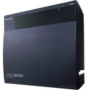 Panasonic Kx tda200 Hybrid Ip pbx Basic Cabinet 90 Day Warranty