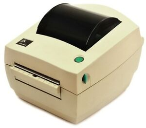 Zebra Lp 2844 Parallel Serial Usb Thermal Label Printer Seller Refurbished