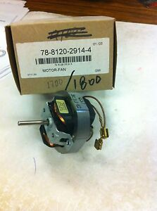 3m Overhead Projector Replacement Fan Motor 78 8120 2914 4 For 1700 1800 Or Simi