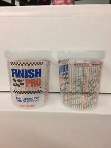 Finish Pro Quart Paint Mixing Cups 32oz Multi Purpose Cup Super Clear 50 Count