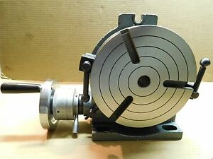 Yuasa 550 048 8 Horizontal Vertical Rotary Table Nice