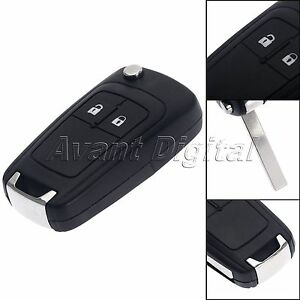 3 Buttons Shell Remote Key Case Fob For Opel Vauxhall Insignia Astra Flip
