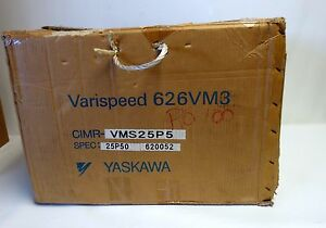 New Yaskawa Spindle Drive 626vm3 Cimr vms25p5 Class Inverter 200v 5 5kw 33a