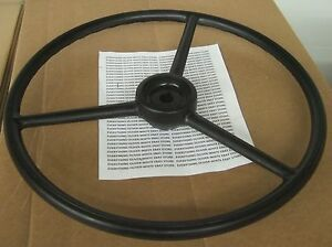 Replacement Steering Wheel Oliver Tractor 18 7 8 Keyed Super 55 770 880