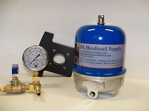 108 Gph Centrifuge W bracket Brass And Gauge For Wvo oil And Biodiesel