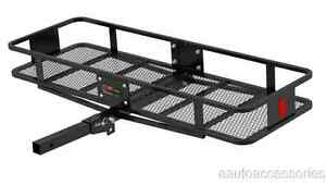 Hitch Mounted Basket Style Cargo Carrier For 2 Hitch Receiver Tube Curt 18151
