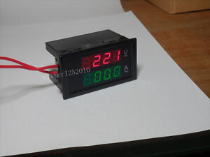 5pcs New Digital Ac100 300v 0 100a Led Display Panel Volt amp Meter With 100a Ct