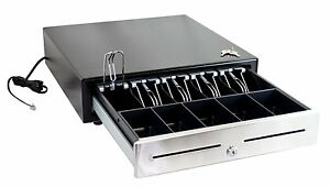 Pos ecr Cash Drawer stainless Steel Front brand New