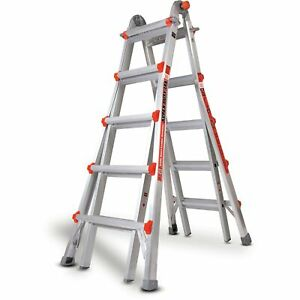 Little Giant 10403 Super Duty Type 1aa 375lbs Rated 22 Multi use Ladder