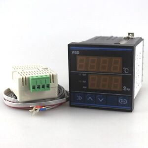 Digital Pid Temperature Humidity Controller Thermomostat Control Tdk0302la Led
