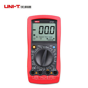 Uni t Ut107 Handheld Automotive Multi purpose Meters Voltage Temperature Tester